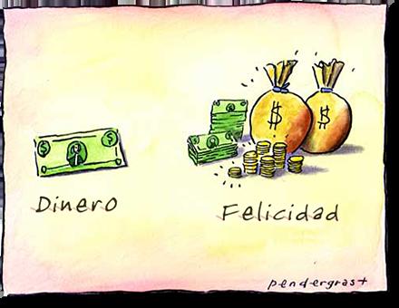 El dinero no da la felicidad… ¿verdad?