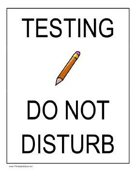 TestingDoNotDisturb