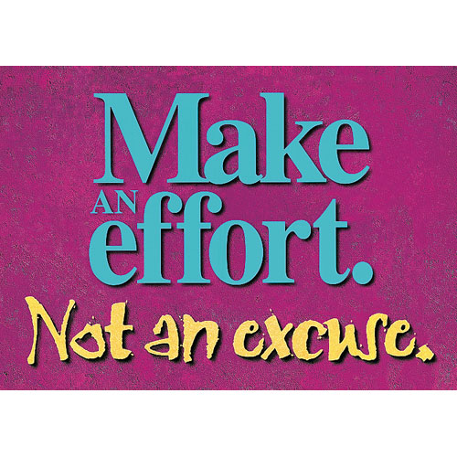 Argus-Make-An-Effort-Poster-N4571_XL