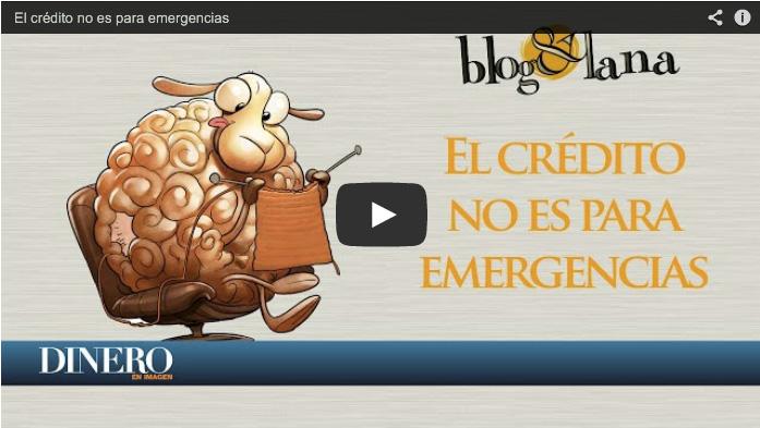 El crédito NO es para emergencias