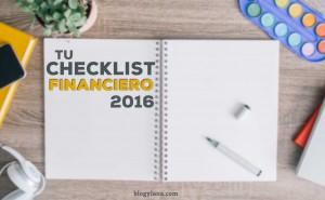 Checklist financiero para un próspero 2016