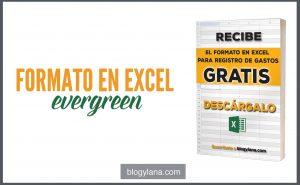 Nuevo Formato en Excel de registro de gastos GRATIS