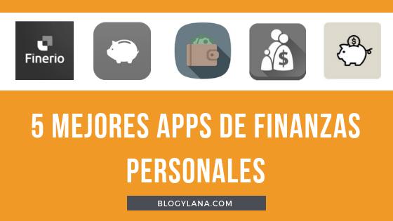 5 mejores apps finanzas