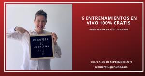 Recupera tu Quincena Fest 2019